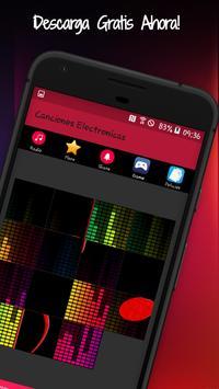 Canciones Electrónicas: Radios Electronicas Fm screenshot 4