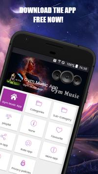 Gym Music App poster