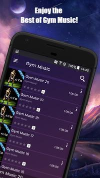 Gym Music App screenshot 1
