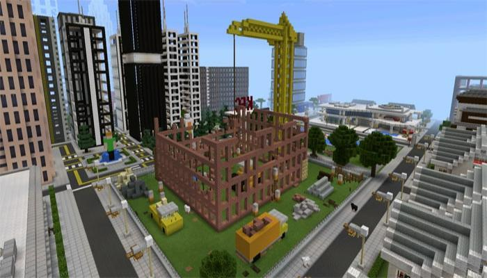 TN City map for Minecraft PE cho Android - Tải về APK