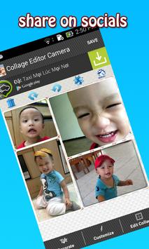 Collage Editor Camera apk screenshot