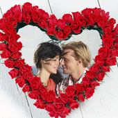 Lover's Heart Photo Frames icon