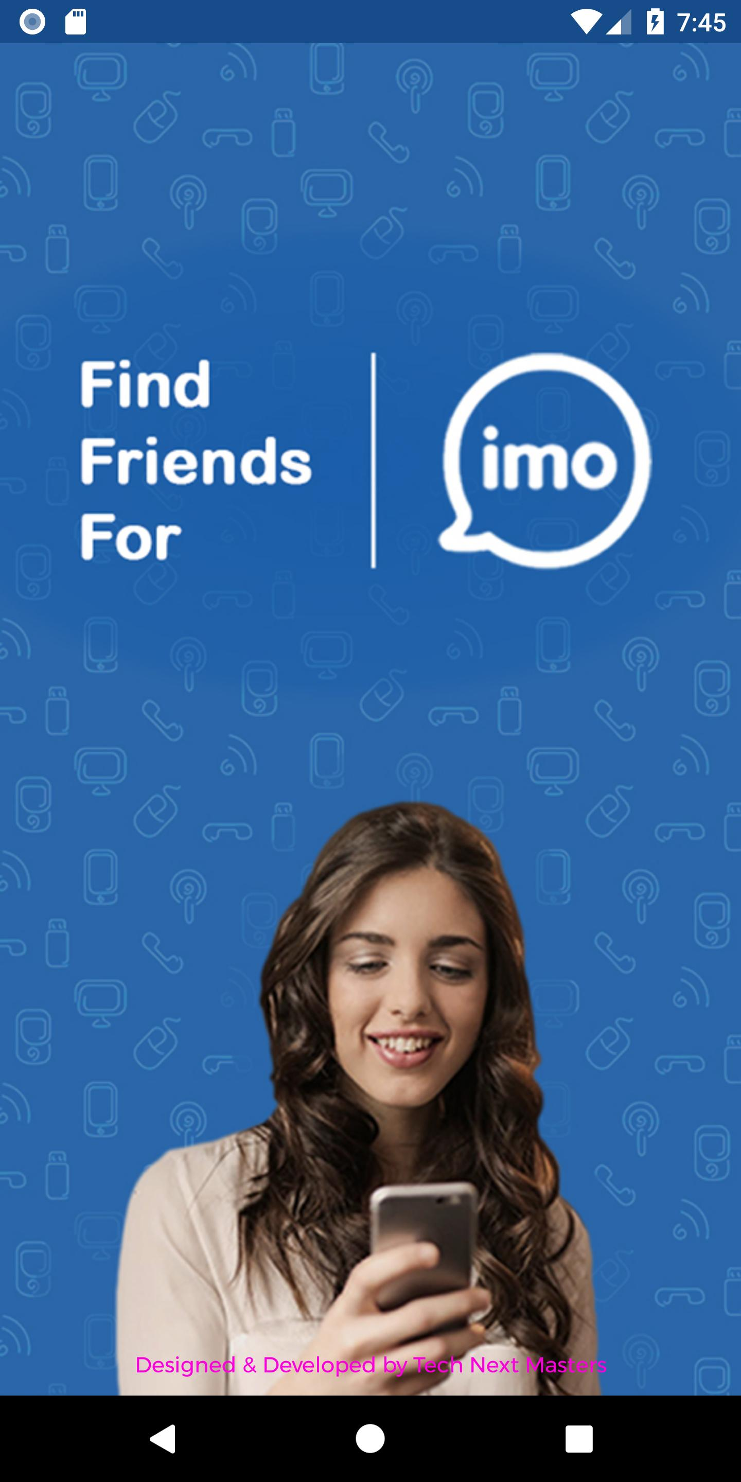 Find Friends For IMO for Android - APK Download