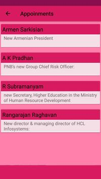Daily Current Affairs & GK app - 2017, SSC,TNPSC screenshot 6