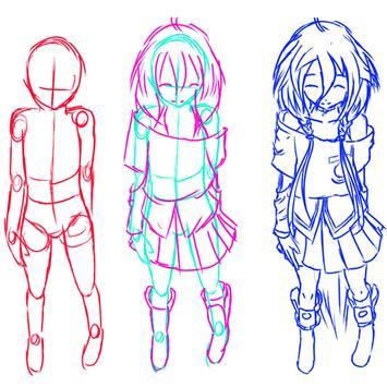How To Draw Manga apk screenshot