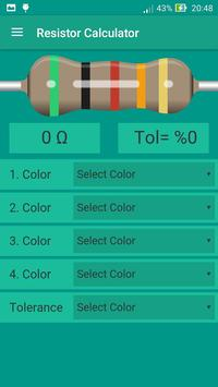 SMD and Resistor Calculator apk screenshot