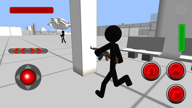 Stickman Gun Shooter 3D poster