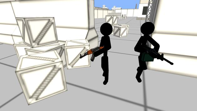 Stickman Gun Shooter 3D screenshot 1