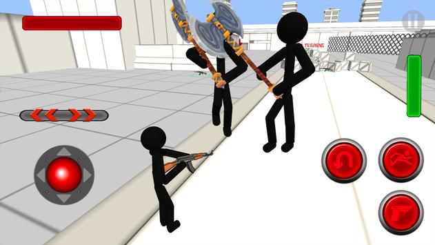 Stickman Gun Shooter 3D screenshot 2