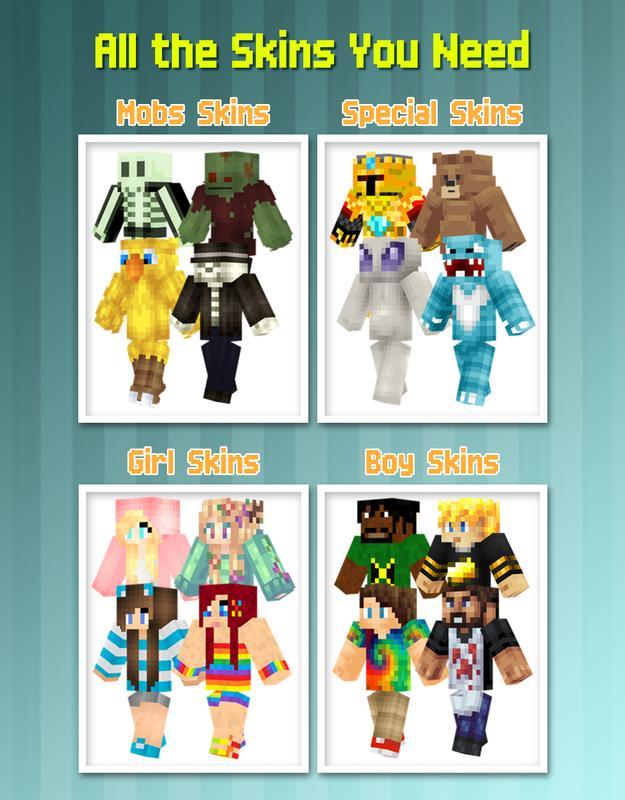 Skins for Minecraft Pocket Ed. APK Download - Gratis Alat APL untuk Android | APKPure.com