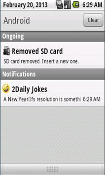 2Daily Jokes apk screenshot