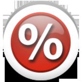 Percentage Calculator app icon