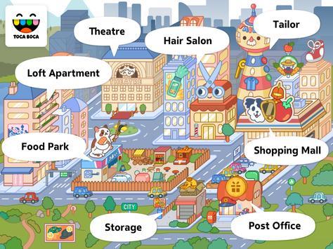 Toca Life: City स्क्रीनशॉट 4