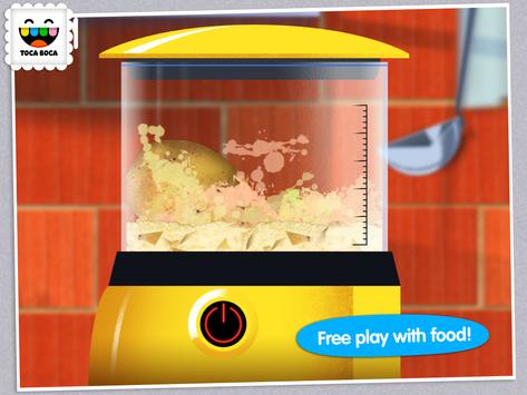 Toca Kitchen apk screenshot