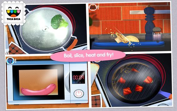 Toca Kitchen تصوير الشاشة 10