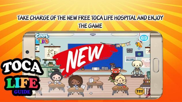 Pro Toca Life School 2017 Tips poster