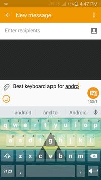 Indie Keyboard with Emojis apk screenshot