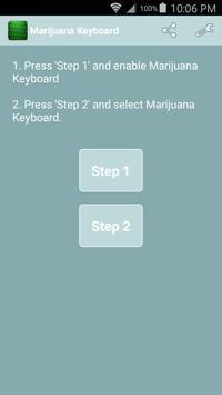 Marijuana Keyboard apk screenshot