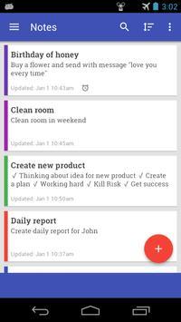 Notes Pro apk screenshot