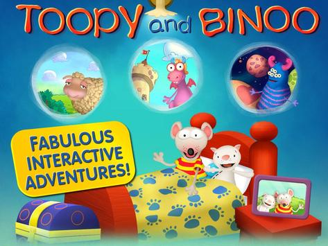 Toopy and Binoo - mobile poster