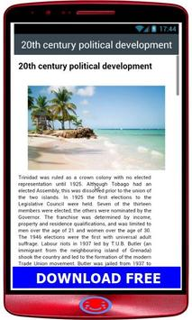 Tobago HistoryTrinidad and Tobago History apk screenshot