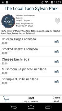 The Local Taco apk screenshot