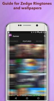 New Guide for Zedge Ringtones and Wallpapers 2018! screenshot 2