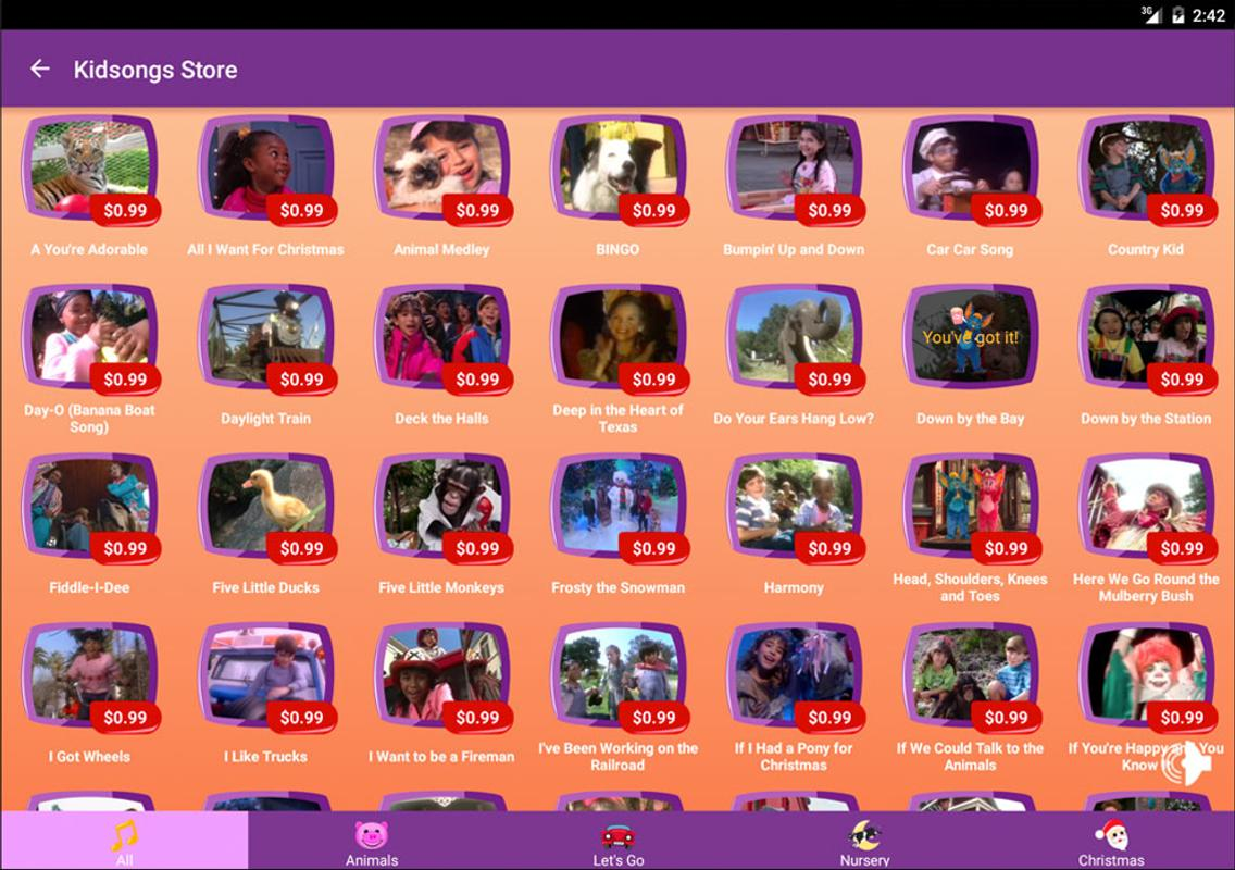 Kidsongs Sing Along APK Download - Free Entertainment APP for ...