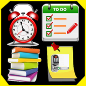 To Do List Notes Alarm Color Reminder Note Notepad आइकन