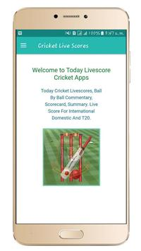 Today Live scores apk screenshot