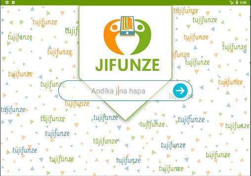 Tujifunze poster