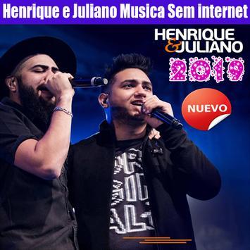 Henrique e Juliano Musica Sem internet 2019 Cartaz