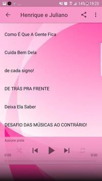Henrique e Juliano Musica Sem internet 2019 imagem de tela 3