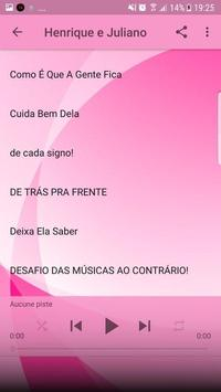 Henrique e Juliano Musica Sem internet 2019 imagem de tela 7