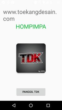 Panggil TDK poster