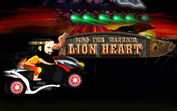 "MSG ""Lion Heart"" Official Game poster"
