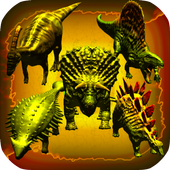 Dinosaurs 3D: Bow and Arrow icon