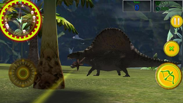 Dinosaurs 3D: Bow and Arrow apk screenshot