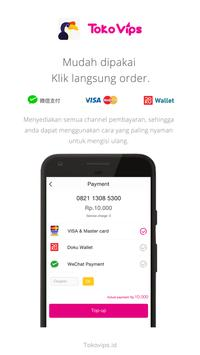 Tokovips - UangKita Merchant screenshot 1