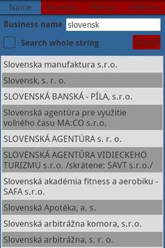 Slovak Business Register poster