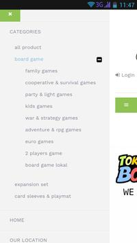Toko Board Game screenshot 1