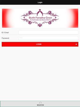 Butik Faradisa apk screenshot
