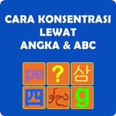 Cara Konsentrasi Angka & ABC icon