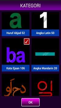 Cara Konsentrasi Angka & ABC apk screenshot