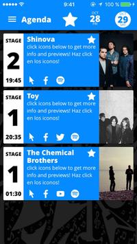 Bilbao Indie Festival (BIME) apk screenshot