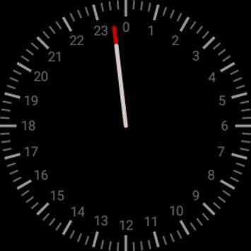 Singlehanded Watch Face apk screenshot