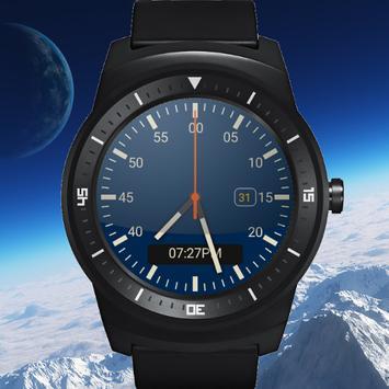 Orbital Tri-face Watch Face apk screenshot