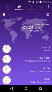 Alarm clock apk screenshot