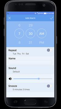 Alarm clock apk screenshot