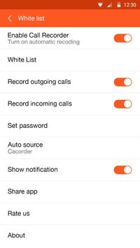 Call recorder screenshot 12